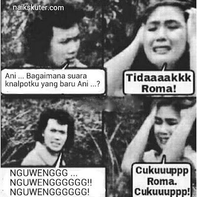 "24 Meme Lucu ""Rhoma-Ani"" Drama Lebay Ini Bikin Ketawa Ngakak"