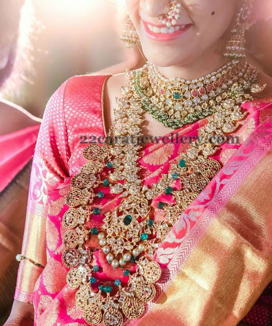 Telugu Bride in Luxurious Kundan jewelry