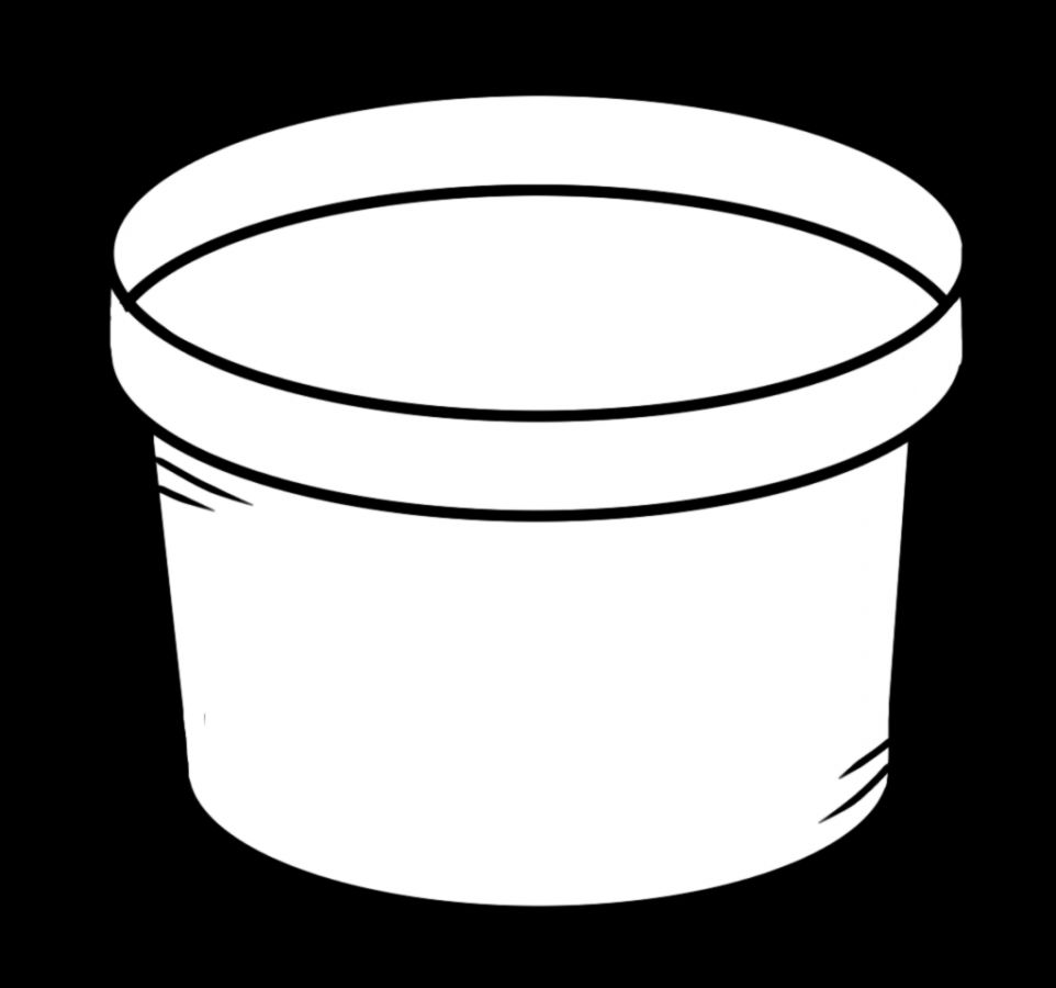 Pot Black And White Clipart   Clipart Kid