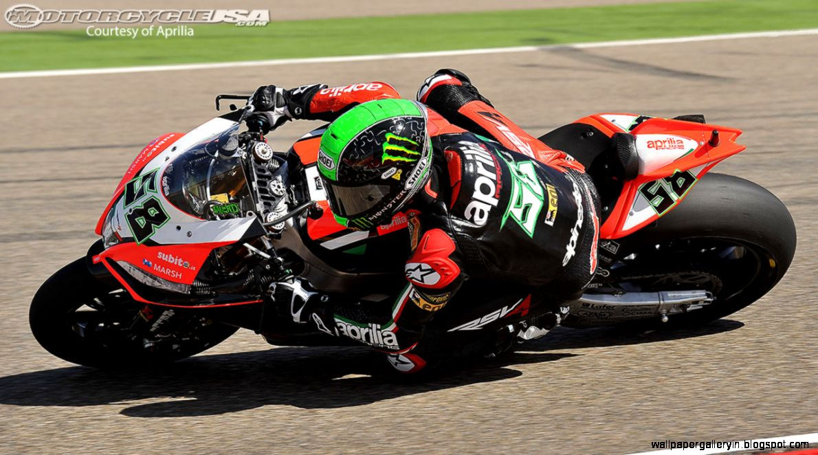 Superbike Aprilia Aragon Laverty HD 2488 Wallpaper