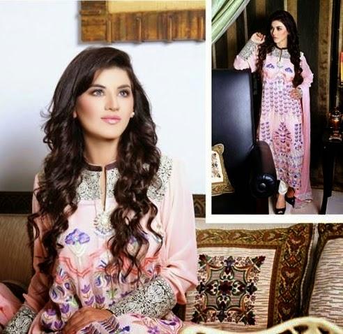 Hadiqa Kiani Chiffon Dresses