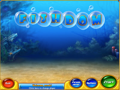 Game Fishdom Starting