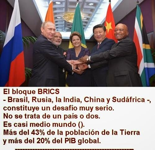 MUNDO: Rusia ratifica la creación del Banco del BRICS con un capital de 100.000 millones de dólares