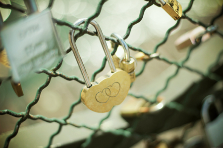 Cadenas du pont des Arts - Paris