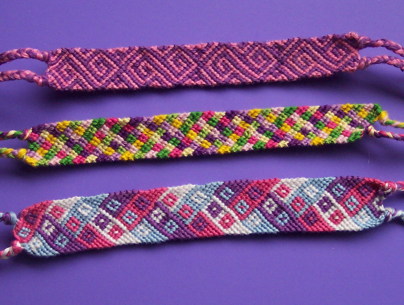 cool friendship bracelets instructions