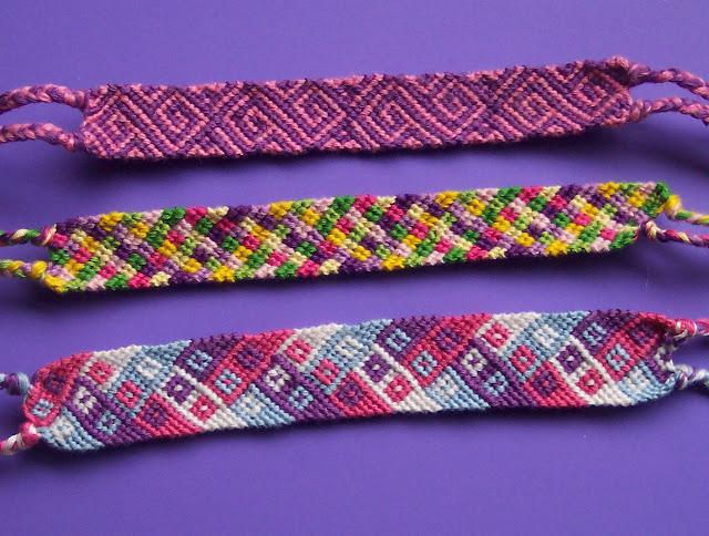 Friendship Bracelet Patterns3