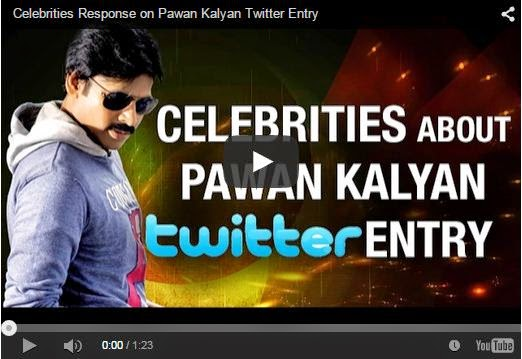 Celebrities Response on Pawan Kalyan Twitter Entry