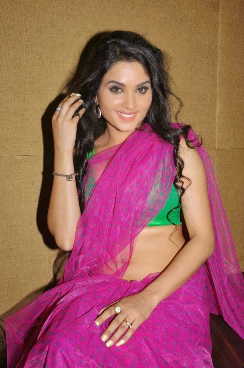 Kavya Singh Pink Saree Kavya Singh Hot Pink Saree