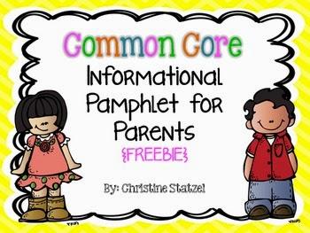 http://www.teacherspayteachers.com/Product/Common-Core-Informational-Pamphlet-for-Parents-Freebie-752615