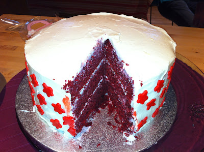 RED VELVEVET LAYER CAKE