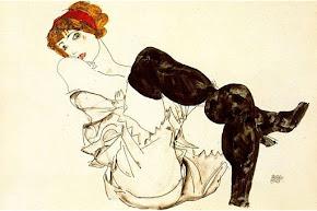 """""""Mujer con medias negras"""" (1913)"""