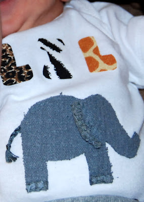 elephant grease rag applique