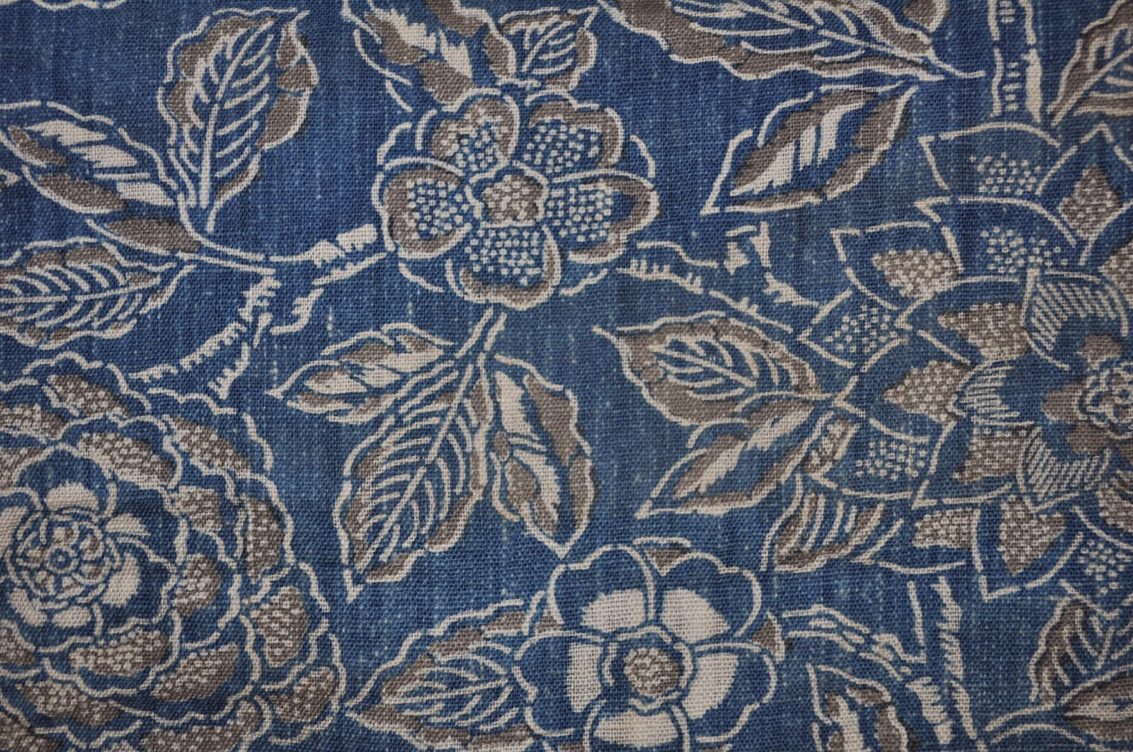 Wonkyworld: Japanese indigo katazome fabric book