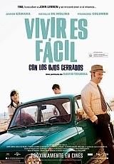Carátula del DVD Vivir es fácil con los ojos cerrados