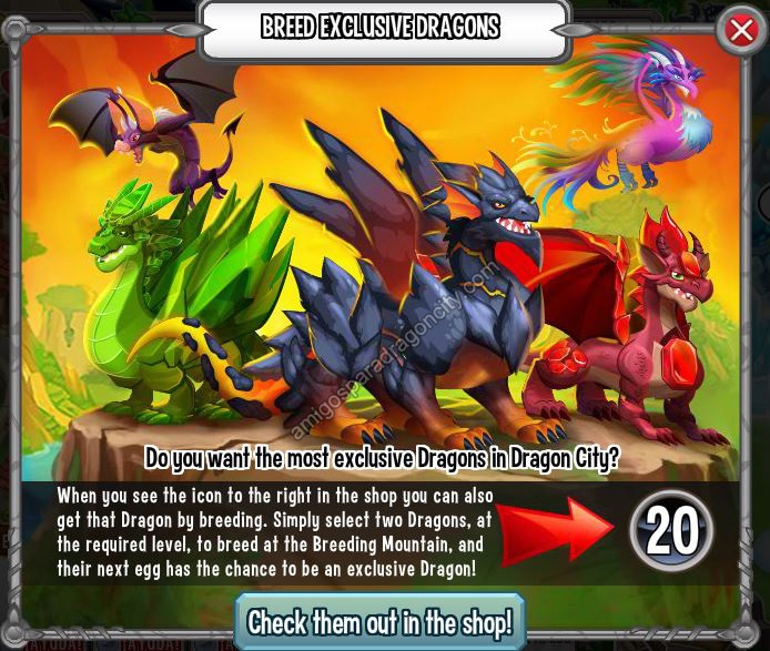 Dragones Exclusivos Sin Gemas y Sin Boveda De Deus En Dragon City