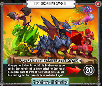 Dragones Exclusivos Sin Gemas En Dragon City | Amigos Para Dragon City