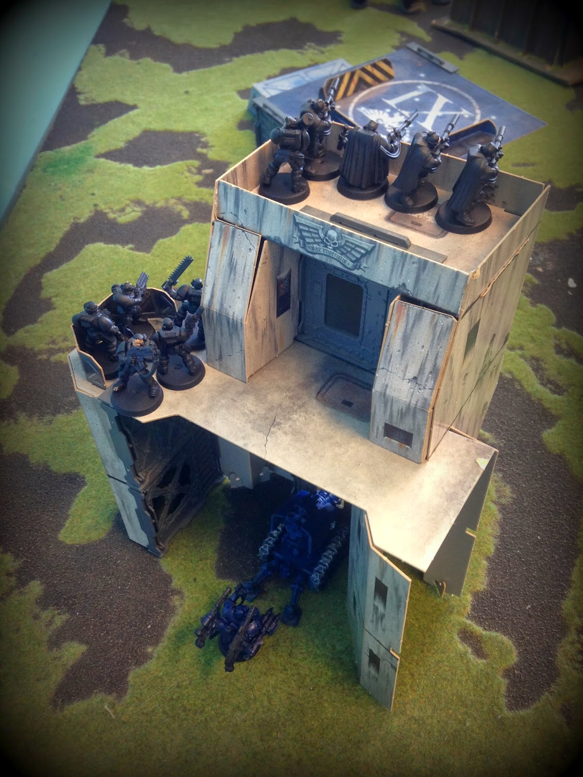 Thunderfire Cannon, Warhammer 40K, Space Marine Snipers, Battle Gaming One