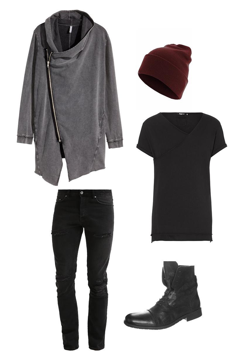 wasgeeeht ein mode blog f r m nner herrenmode und lifestyle outfit black vs red. Black Bedroom Furniture Sets. Home Design Ideas