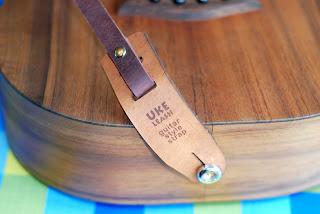 Uke Leash Guitar Style Ukulele Strap