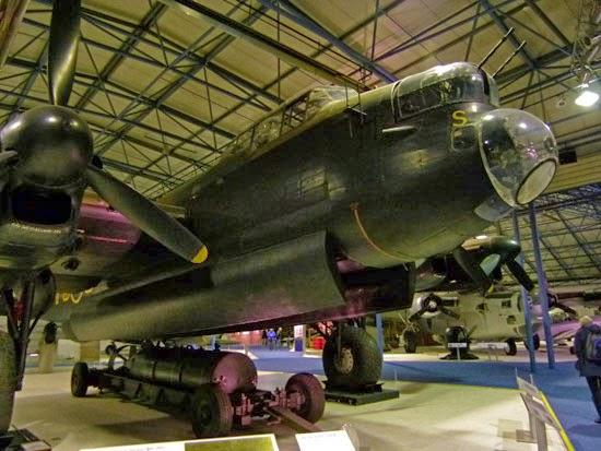Lancaster bomber, RAAF, museum, London, Hendon