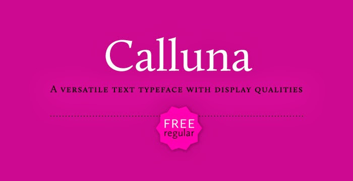 20 Useful Free Fonts for Web Design