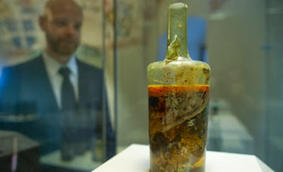 Museum reluctant to open ancient Roman wine