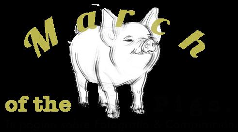 March of the Pigs. ϟ Fotografía & Conspiración.