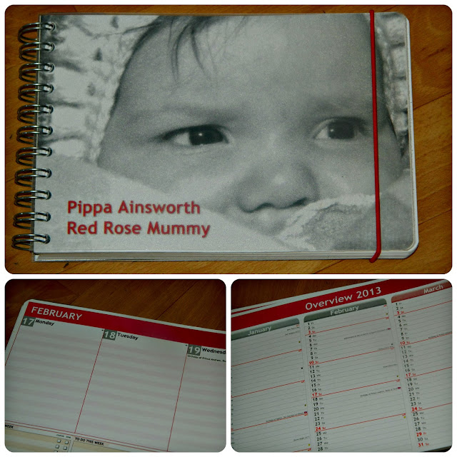 Personal Planner Personalised Diary