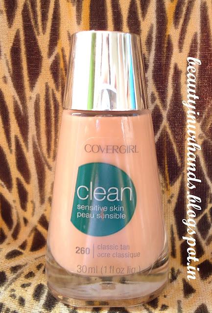 Foundation Sensitive Classic Tan skin Review Makeup sensitive dark  makeup Clean for Liquid 260 Skin