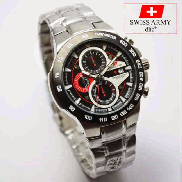 Swiss Army SA 8685 SS Original hitam