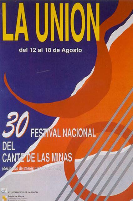 Cartel del Cante de las Minas de 1990