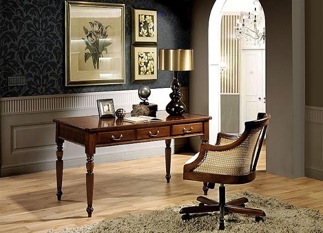 Mesa de escritorio Victoriana
