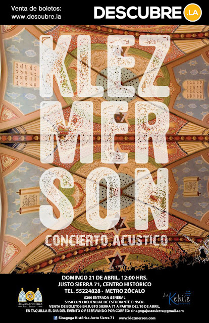 Concierto acústico de Klezmerson en el Centro Histórico