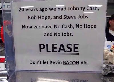 No dejen morir a Kevin Bacon