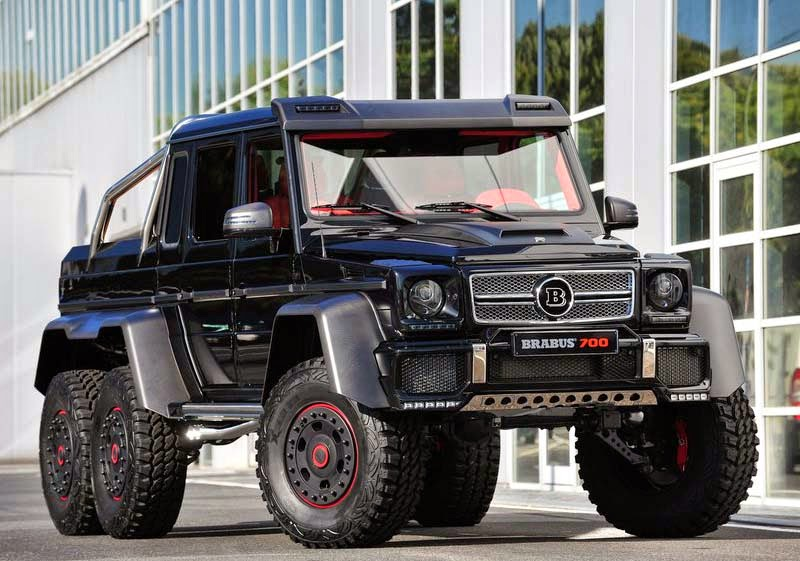 Brabus B63S-700 6x6, 2013, Autos, Luxury Automobiles, Automotive, Car Concept