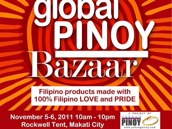 Yabang Pinoy presents Global Pinoy Bazaar 2011
