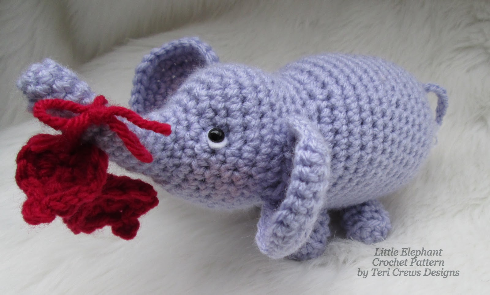 Teris Blog: Free Little Elephant Crochet Pattern