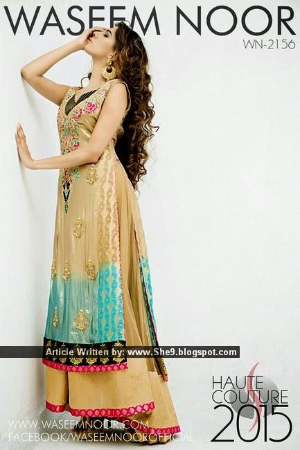 Waseem Noor Haute Couture 2015