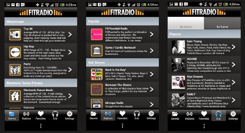 FitRadio