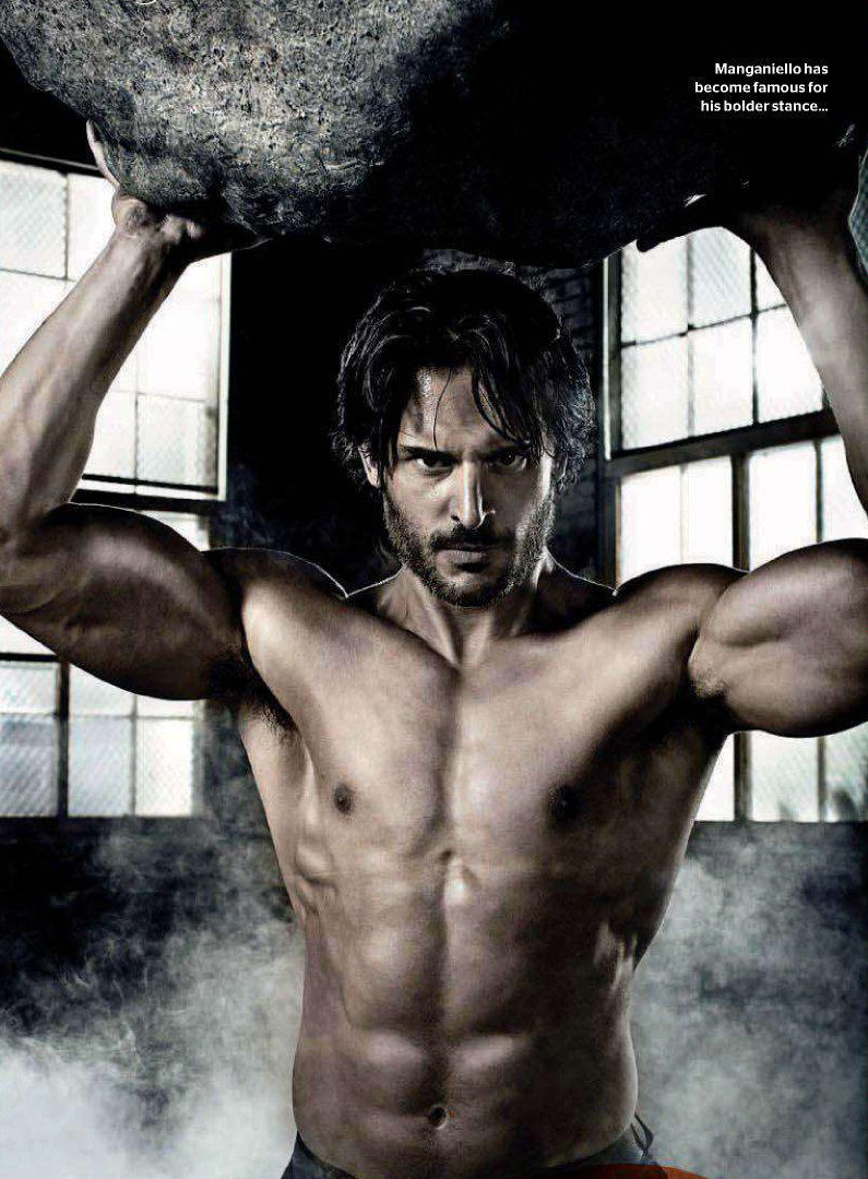 Joe manganiello covers uk men's health