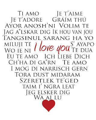 in different languages i love you in many i love you in different    I Love You In Different Languages