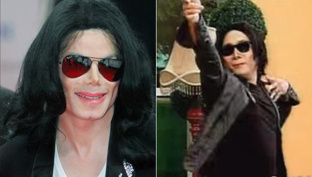 Michael Jackson and Michael V.