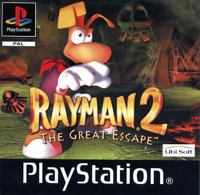 Boitier du jeu - Rayman 2 The Great Escape