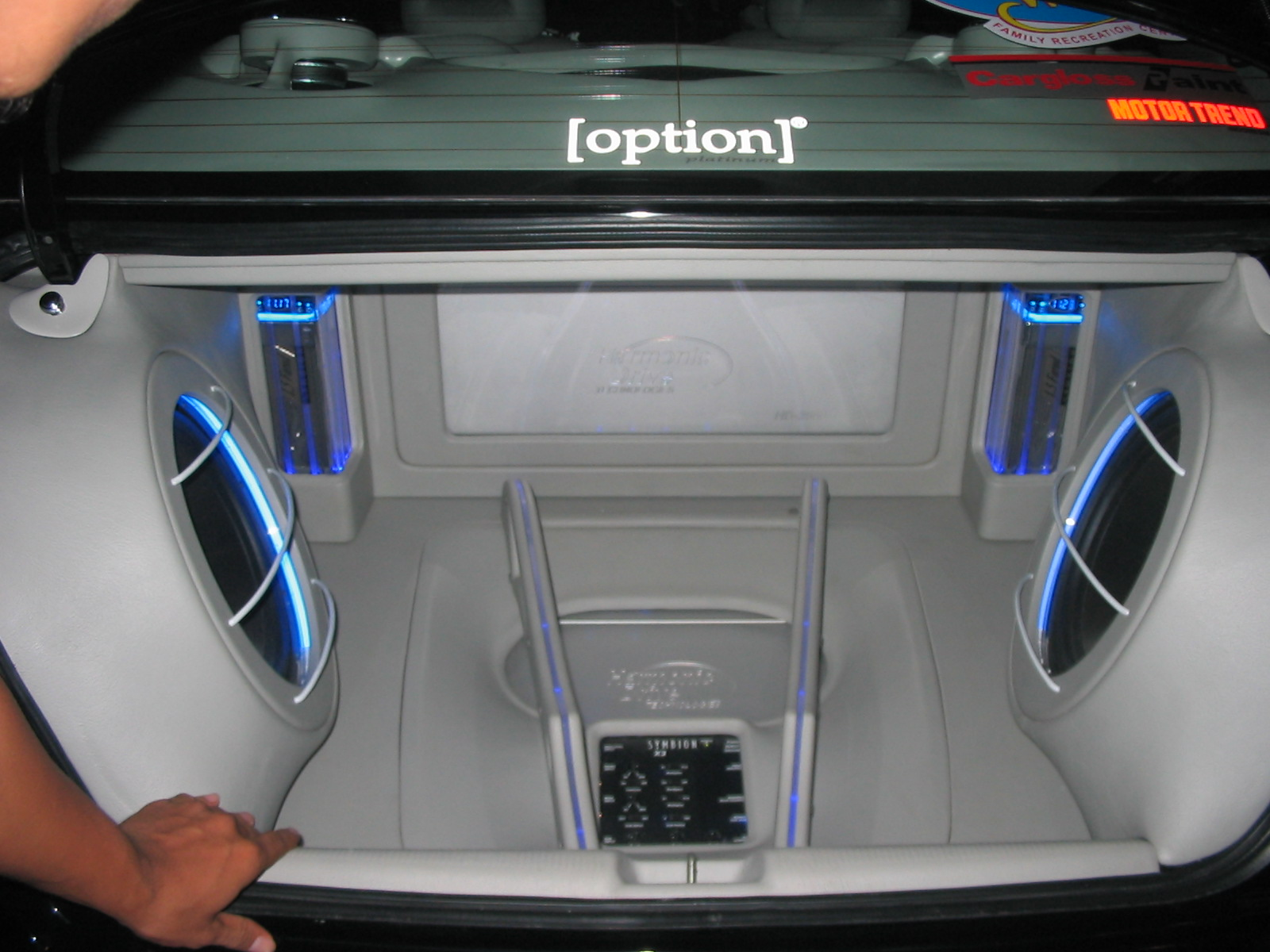 modifikasi motor mobil car interior with audio sound. Black Bedroom Furniture Sets. Home Design Ideas