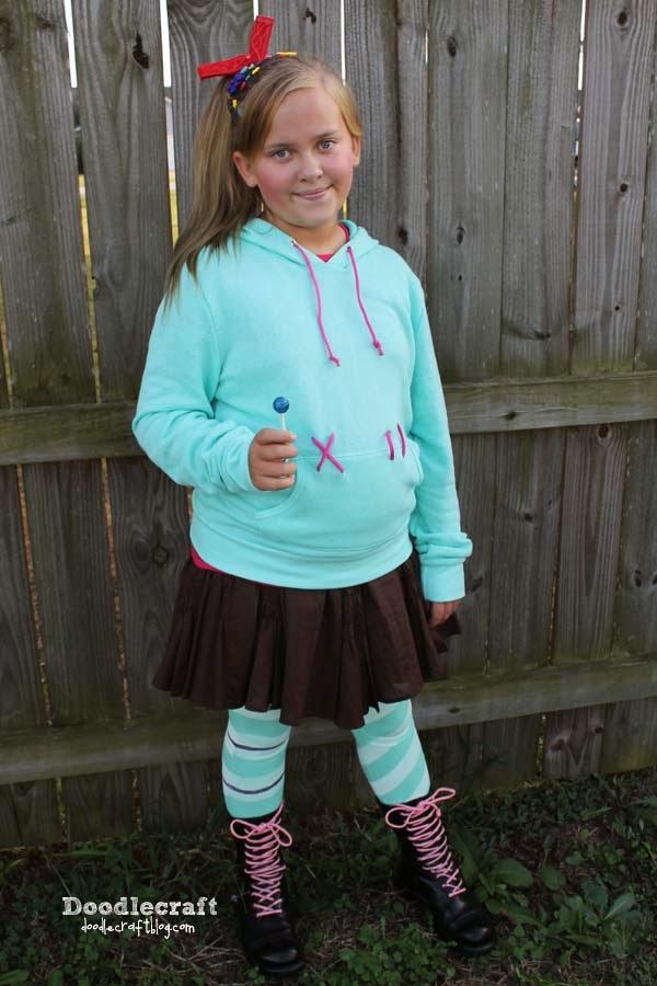 Rush Vanellope Costume Doodlecraft: vanellope von schweetz costume