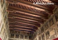 Palacio Episcopal Tarazona Techumbre Salón de los Obispos