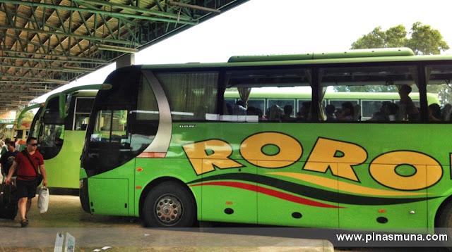 Roro Bus Terminal in Puerto Princesa Palawan