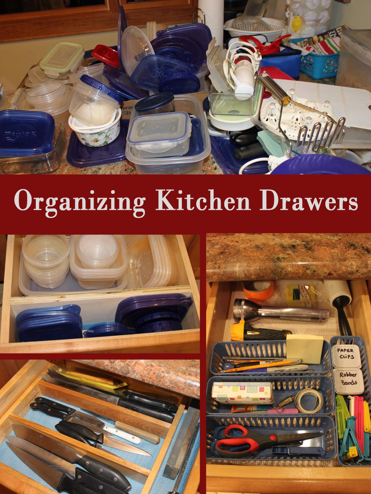 my great challenge organizing kitchen drawers. Black Bedroom Furniture Sets. Home Design Ideas