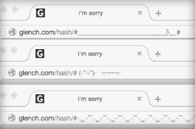 This Is How You Make Animated URL Address