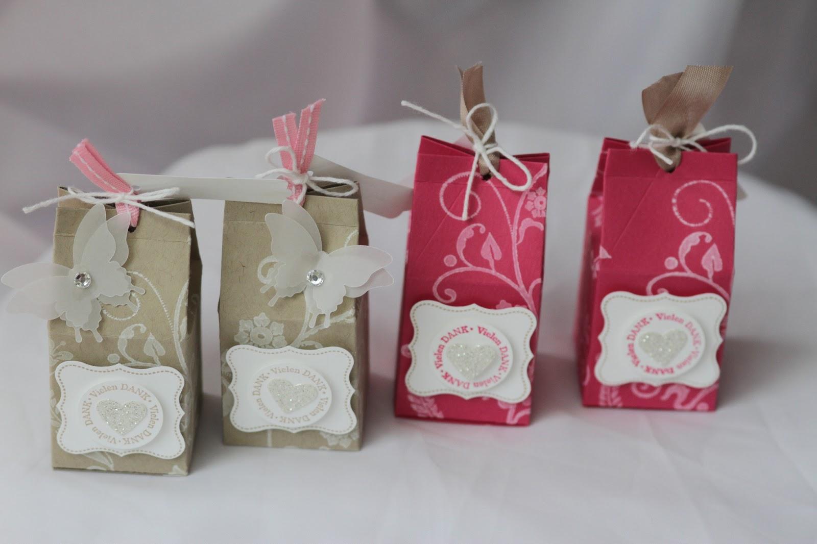 Samey Atelier Farbstil: ♥ Verpackung für Give-a-way zur Hochzeit ♥